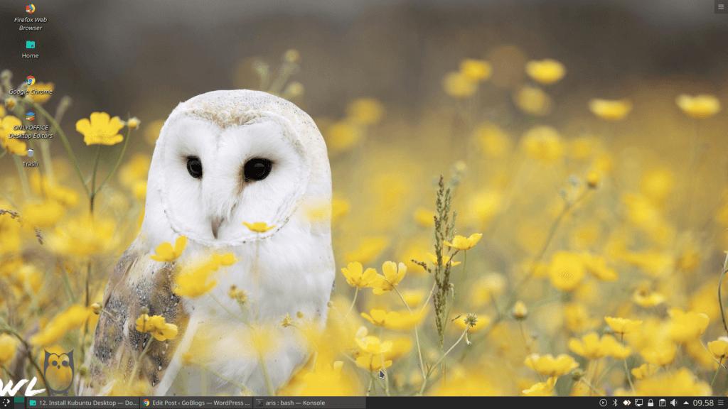 Desktop Kubuntu 18.04